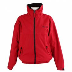 Mark Todd Unisex Fleece Lined Blouson Red and Black