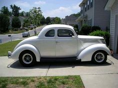 1937 Ford Coupe Nice car.