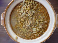 Lentilles à l'ail et aux épices