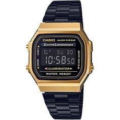 Casio Digital Illuminator Watch (1,830 MXN) ❤ liked on Polyvore featuring jewelry, watches, accessories, women, casio watches, stainless steel jewelry, stainless steel watches, stainless steel digital watches and digital wristwatch
