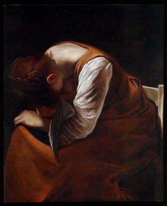 Caravaggio, Maddalena addolorata