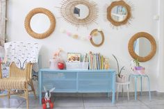 Colorful and pastel Home. www.freakyfamilystory.fr