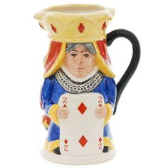 King and Queen of Diamonds Toby Mug