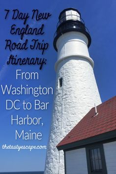 New England Road Trip: DC to Maine (and back) in 7 Days Washington Dc Attractions, Washington Dc Travel, Maine Road Trip, East Coast Road Trip, Road Trips, New England Usa, New England Travel, Coaching, Vacation Deals