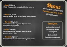 """Nouveau menu pour le début du mois de février avec une nouveauté """"Fast&Good"""" http://www.hotel-ibis-luxembourg.com/fr/restaurant.html #Luxembourg"""