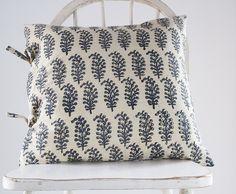 Laura Indigo Small Deco Pillow