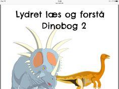 Lydret læs og forstå Dinobog 2 Teaching Kids, Education, School, Character, Onderwijs, Learning, Lettering, Kids Learning