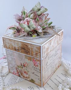 Exploding Box Card, Explosion Box, Decorative Boxes, Blog, Cards, Decorated Boxes, Blogging, Maps, Playing Cards