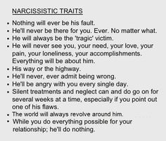 "Narcissistic sociopath relationship abuse - It's not 'HE' always! Abuse is never ""Gender specific""! In my case it's a ""SHE"" & ""HE"" both! My wife is a Covert Narcopath & my father an Overt Narco-Sociopath! Narcissist Victim, Traits Of A Narcissist, Narcissistic People, Narcissistic Behavior, Narcissistic Sociopath, Narcissist Quotes, Sociopath Traits, Narcissistic Mother, Abuse Quotes"