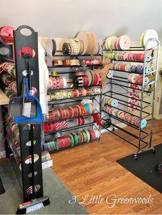 Loft Storage, Craft Room Storage, Craft Organization, Craft Rooms, Organization Ideas, New Crafts, Craft Stick Crafts, Home Crafts, Wreath Making Supplies