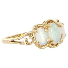 Check out this item at One Kings Lane! Opal Trilogy Ring