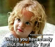 The Walking Dead #TWD #JUDITH #TARA #CANDY