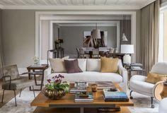 Salas de estar: Projeto Dado Castello Branco - BOL Fotos - BOL Fotos