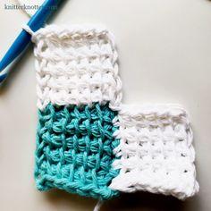 Tunisian Crochet Patterns, C2c Crochet, Crochet Stitches, Enterlac Crochet, Left And Right Handed, Merino Wool Blanket, How To Make, Tips, Baby