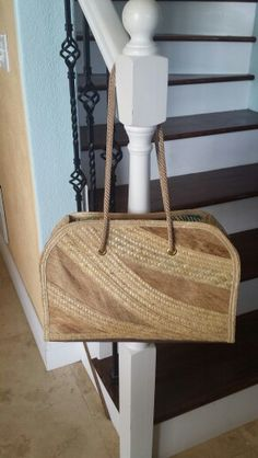 Coconut fibre shopper