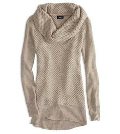 AEO Factory Cowl Neck Sweater