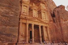 Byen Petra i Jordan