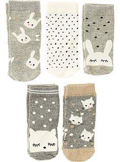 435998b15 Calcetines - Pack de 5 pares de calcetines - Kiabi Kids Socks