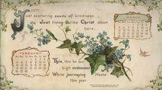 Календарь 1899 года.