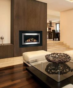 The Rinnai 1250 Gas Log Flame Fire features a beautiful, glowing ...
