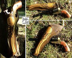 Golden Wing Colt Navy 1851 belt holster by barlogg