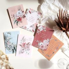 Uplifting positive notecards designed by @typoflora x @peonyparcel . Build a guft box with some positive vibes.