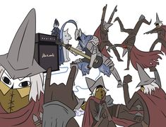 Dark Souls,фэндомы,Dark Souls 3,Artorias The Abysswalker,DS персонажи,Abyss Watchers,DSIII персонажи,Lord's Blade Ciaran,Great Grey Wolf Sif