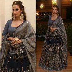 Image may contain: 2 people, people standing Indian Wedding Outfits, Pakistani Outfits, Bridal Outfits, Indian Outfits, Indian Lehenga, Red Lehenga, Lehenga Choli, Bridal Lehenga, Sharara
