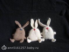 Коты, мыхи, зайцы… пушистые… вязаные, вязаные пушистые зайцы