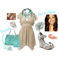Silver & Tiffany Blue - Fashion