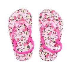 a2ee515db77f3 Disney s Minnie Mouse Toddler Girl Thong Flip Flop Sandals