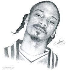 Snoop Dogg #HipHop #Drawing #WestCoast