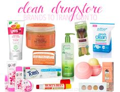 Do you want to transition to clean and green beauty products but are unsure where to start? Here is a great list of drugstore brands that you should easily have access to!