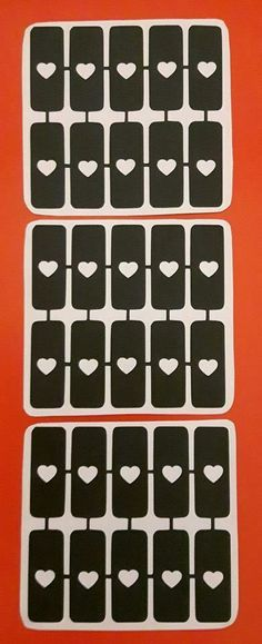 30 x heart nail stencils for airbrush gift present Valentines Glitter Tattoo Set, Nail Stencils, Heart Nails, Airbrush, Presents, Valentines, Tattoos, Children, Gifts