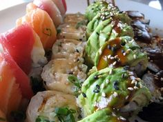 Sample real sushi (accomplished fall of 2006 and many times after as it's now one of my favorite foods!)
