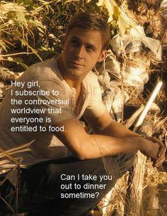 hey girl ryan gosling  | Ryan Gosling says Hey Girl: The best memes for his 33rd birthday - The ...