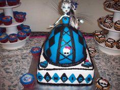 Monster High Doll cake