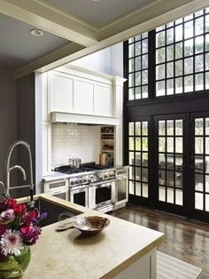 South Shore Decorating Blog: Pin From Email and Lots of Black Windows and Steel Windows