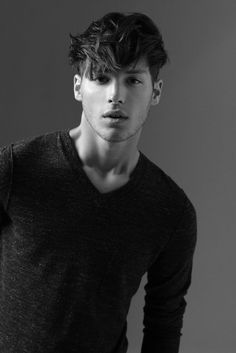 American Crew's New Collection: 20+ Images of Men's Hair- I know it's on a guy... But I kind of love this cut and would wear it... :)