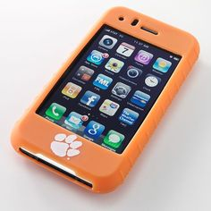 Ifanatic Clemson Tigers Iphone 3G/3Gs Gamefacez Silicone Case $27.99