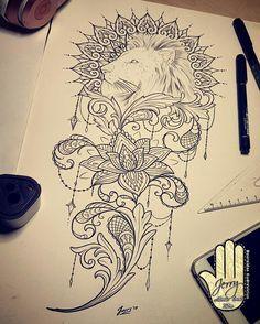 Working on design #liontattoo #liondrawing #ornamentaltattoo #lacetattoo #mandalatattoo #tattooedgirls #inkedgirls #inkspiration #tattoo #tattoos #tattooartist #tattooed #mandala #tattoodesign #tattooideas #tattooflash #design #art #newquay #cornwall #lotusflower #lotustattoo #newquay #cornwall #atlanticcoasttattoo