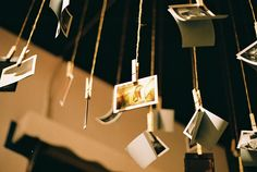 cool way to hang pictures
