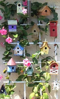Bird House Plans 541769030177871416 - 16 Trendy painting bird houses ideas design Source by audreylige Bird House Plans Free, Bird House Kits, Bird Houses Painted, Bird Houses Diy, Decorative Bird Houses, Garden Crafts, Garden Projects, Deco Nature, Bird Aviary