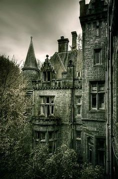 Would love to explore this old castle - so haunting
