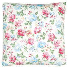 GreenGate Quilted Cushion Donna White 50 x 50 cm