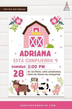 New Party Tematic Granja 45 Ideas Farm Animal Birthday, Farm Birthday, 2nd Birthday Parties, Mylar Balloons, Baby Shower Balloons, Wedding Snacks, Baby Shower Winter, Party Decoration, Farm Theme