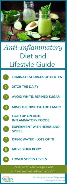 Anti-Inflammatory Diet and Lifestyle Guide
