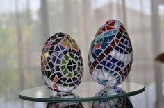 Mosaic eggs. BeeBee's mosaic design.