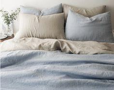 Lavato blu grigio / scuro blu colorato Premium di MagnoliaAmor