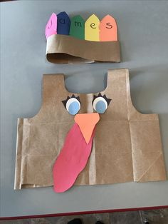 Super simple and cute DIY Paper Bag Turkey costumes! Thanksgiving Crafts For Toddlers, Thanksgiving Art, Thanksgiving Crafts For Kids, Thanksgiving Activities, Thanksgiving Costume, Daycare Crafts, Classroom Crafts, Toddler Crafts, Preschool Crafts